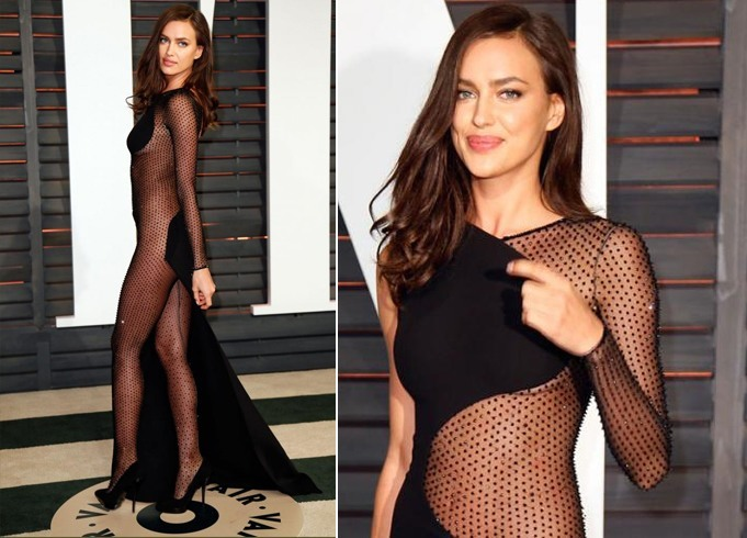 Irina Shayk Naked Red Carpet Dresses