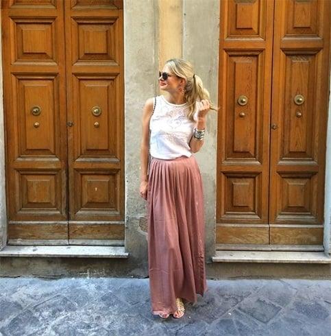 Italian Girl Street Style