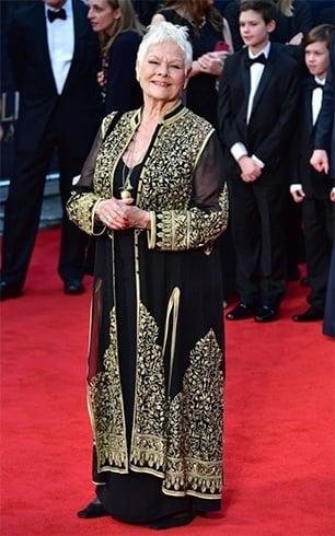 Judi Dench at Olivier Awards