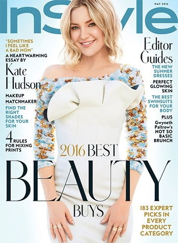 Kate Hudson On Instyle