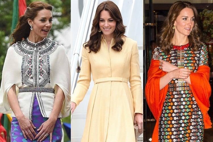 Kate Middleton Royal Visit Wardrobe