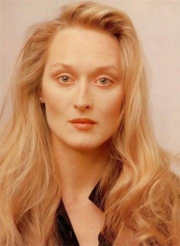 Meryl Streep Long Hair