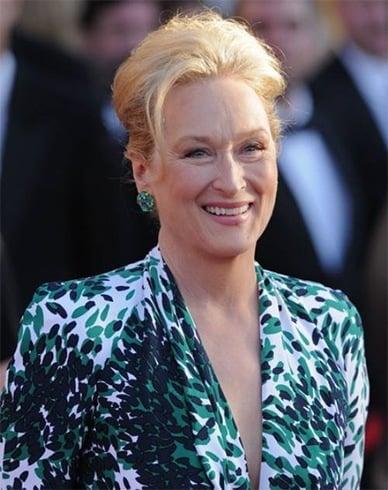 Meryl Streep hairstyle