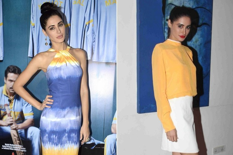 Nargis Fakri At Azhar Promotions