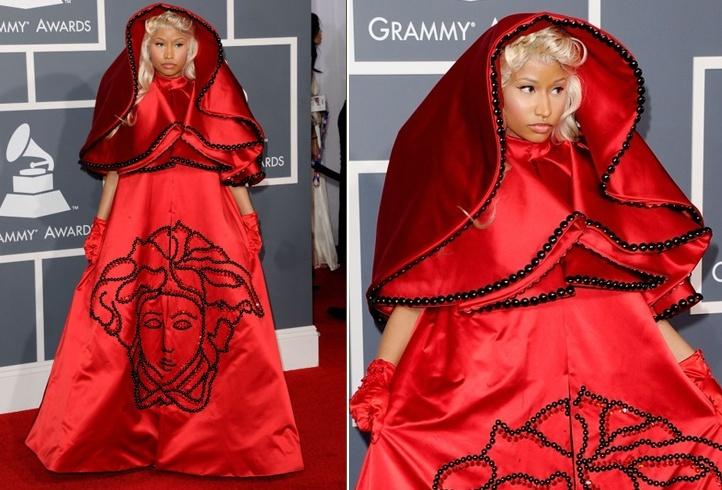 Nicki Minajs Red Carpet Style