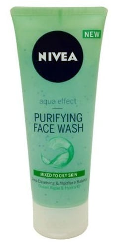 Nivea Aqua Effect Purifying Face Wash