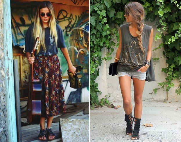 Outfits of Hipster Girl