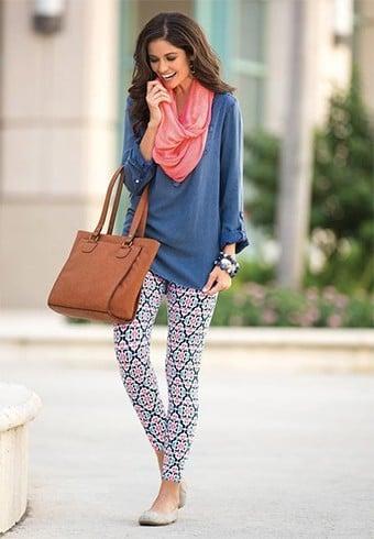 Patterned Leggings Fashion
