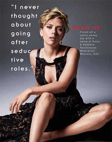 Scarlett Johansson Cosmopolitan Magazine Cover