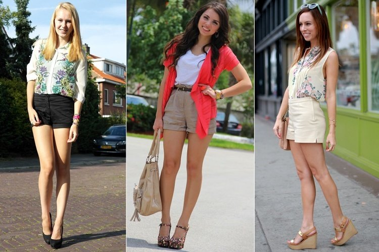 Shorts With Heels