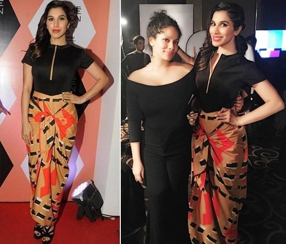Sophie Choudry In Masaba At Lakme Fashion Week 2016