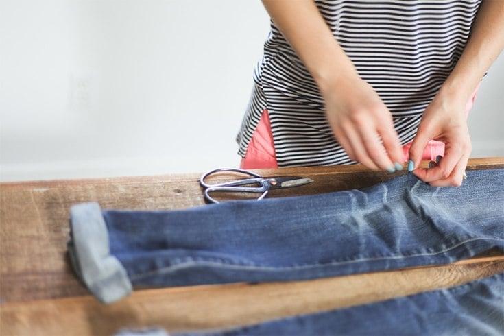 Ways To Distress Jeans