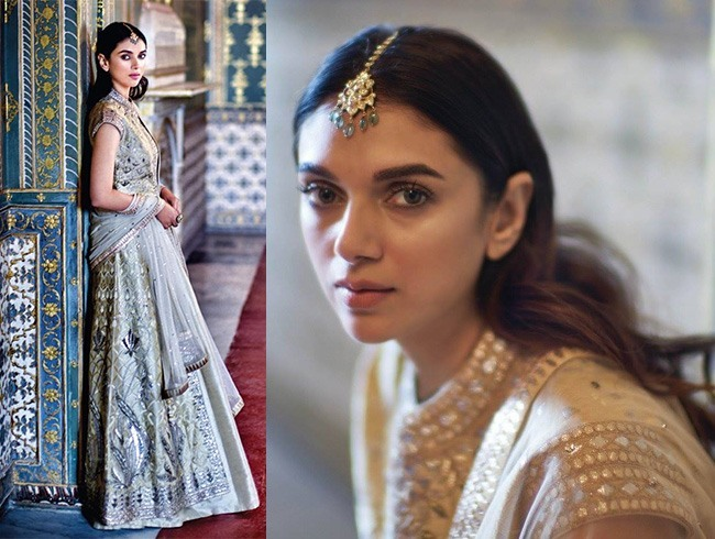 Aditi Rao In Anita Dongre Outfits