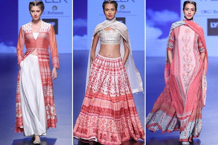 Anita Dongre Collection at 2016 LFW