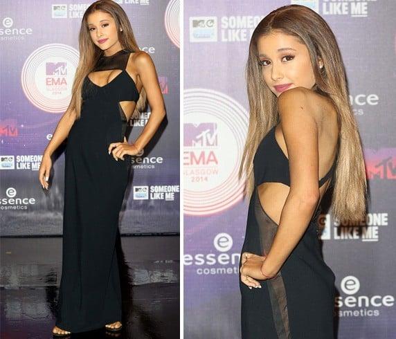 Ariana Grande at MTV EMA Awards 2014