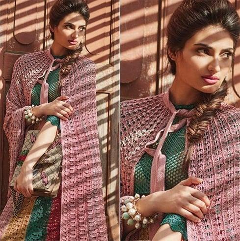 Athiya Shetty in Gucci multi-color dress