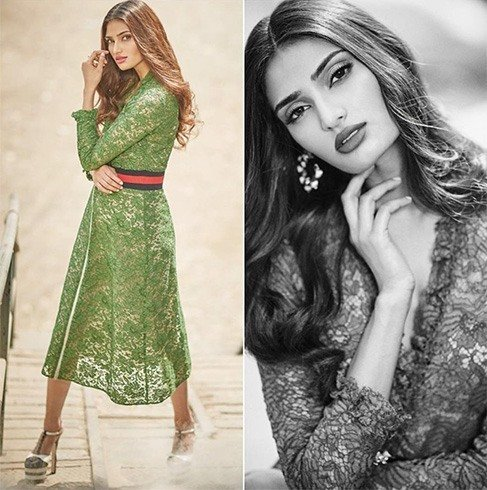 Athiya Shetty in Gucci outfits