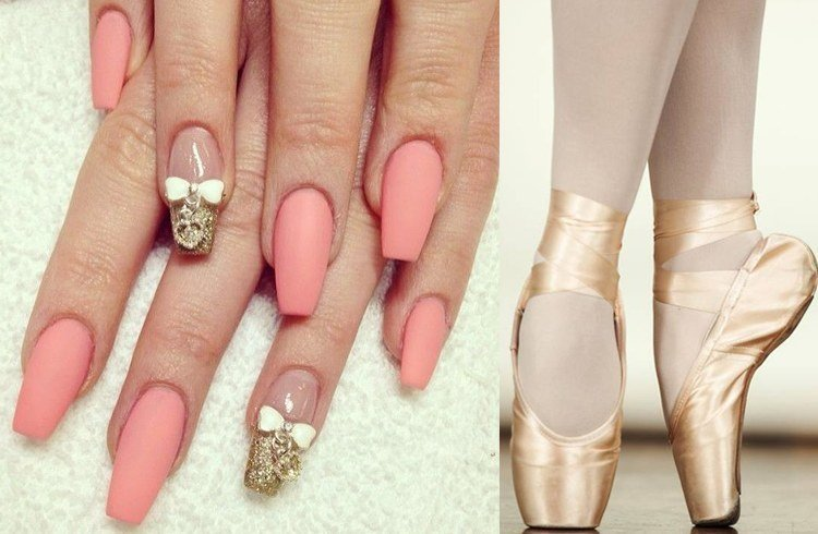 Ballerina Nails Are The Next Big Thing In The World Of Manicures