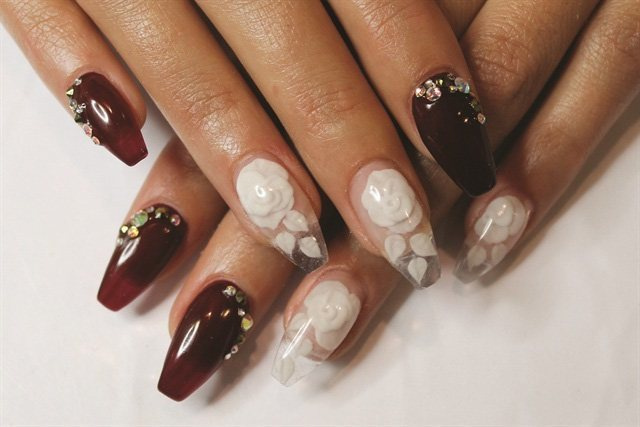 Ballerina Nails Design