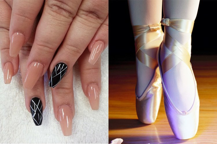 Nail Designs Square Shaped Nails