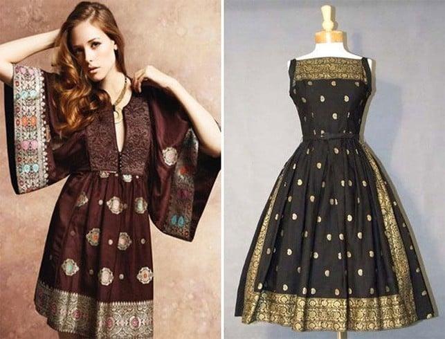 Bohemian Silk Dresses
