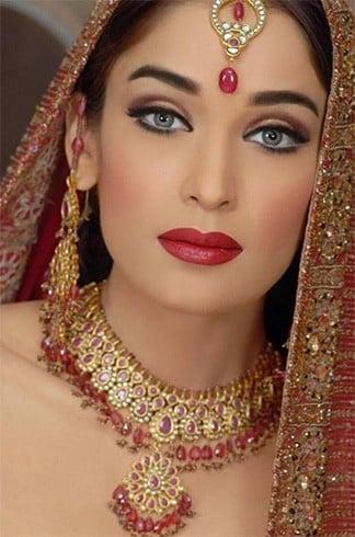 Bridal Eye Makeup in Summer