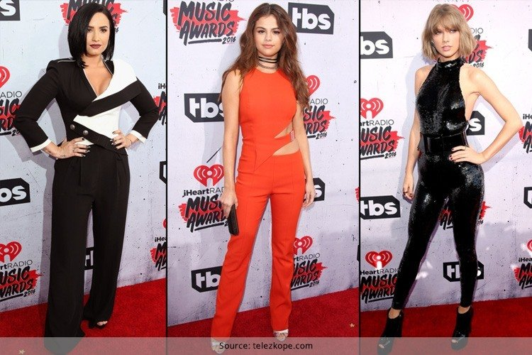 Celebs at iHeartRadio Music Awards 2016