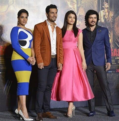 Celebs at Sarabjit Trailer Launch
