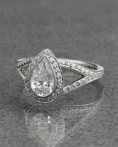 Chunky diamond ring