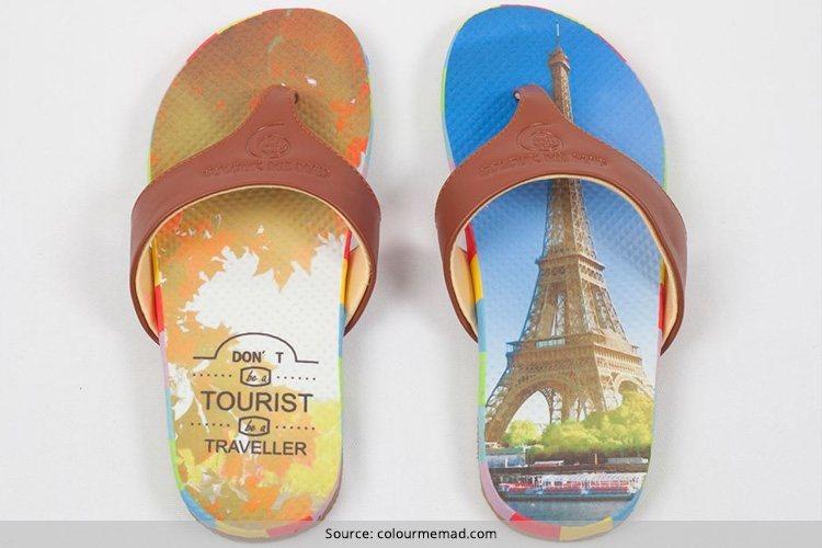 Colour Me Mad Flip Flops