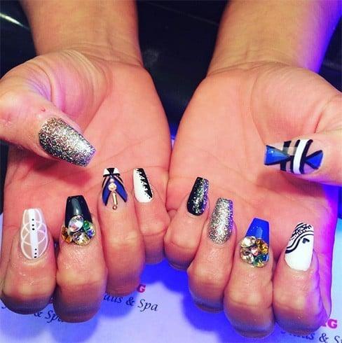 Crazy Ballerina Nails