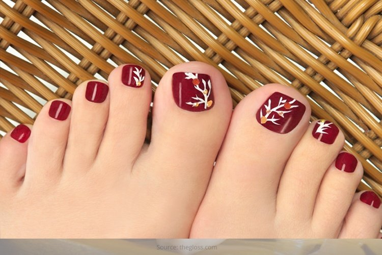 35 Easy Toe Nail Designs That Are Totally Worth Your Time