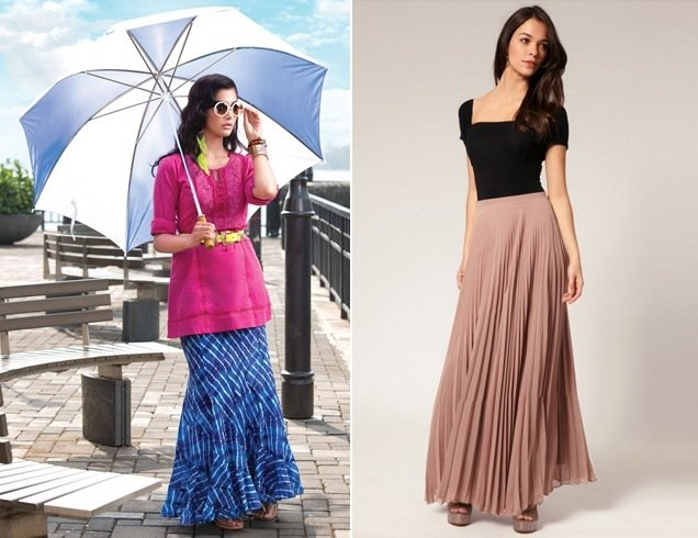 How To Wear Long Skirts And Look Super Chic