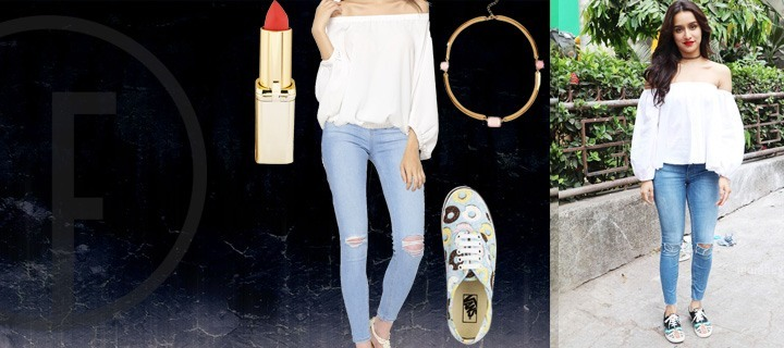 Go Summer Chic in Off Shoulders Like Shraddha Kapoor