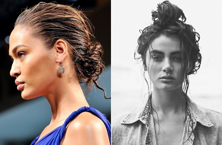 hairstyles for freshly washed hair