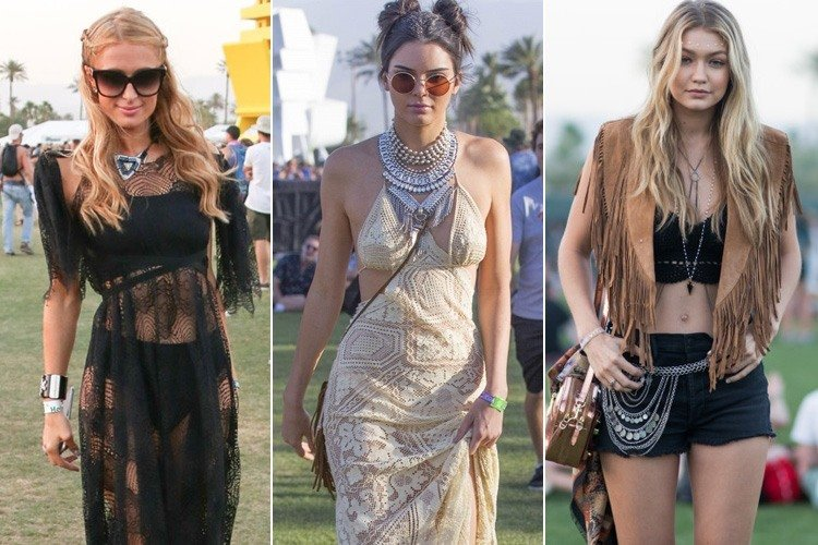 Hollywood Celebs at Coachella Music Festival 2016