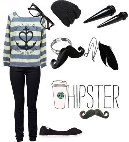 how to dress like a hipster girl