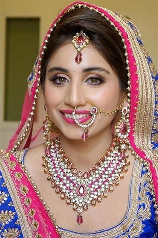 Indian Bride Eye Makeup in Summer
