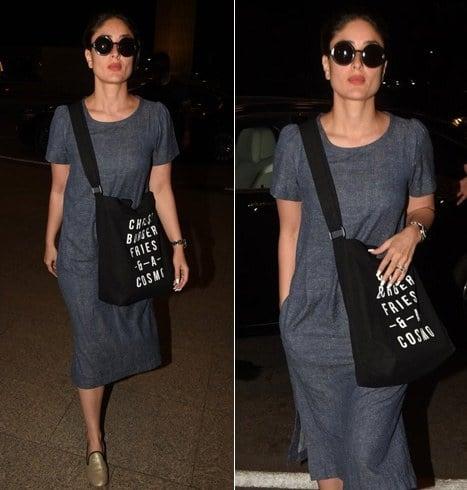 Kareena Kapoor Airport Fashion