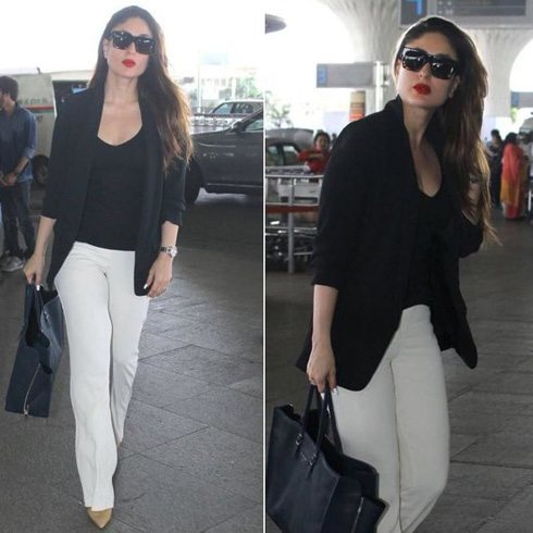 Kareena Kapoor Travel Fashion