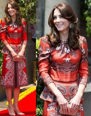 Kate Middleton at Kate Middleton Visit India