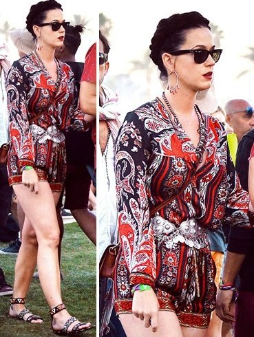 Katy Perry at Music Festival