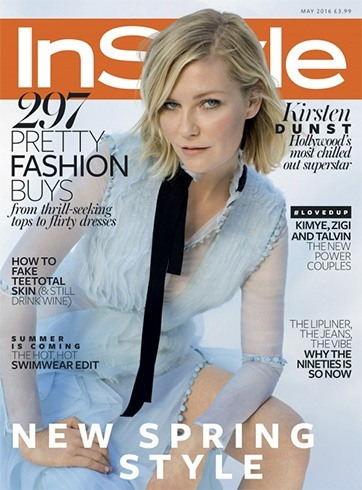 Kirsten Dunst In InStyle UK 2016