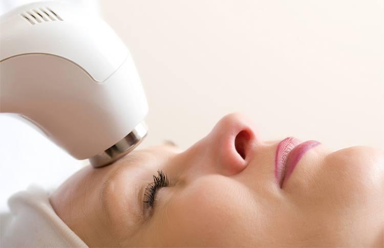 led light facial treatment