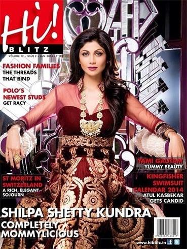 List Of Magazine Covers Featuring Shilpa Shetty