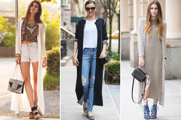 Long Cardigan Outfits