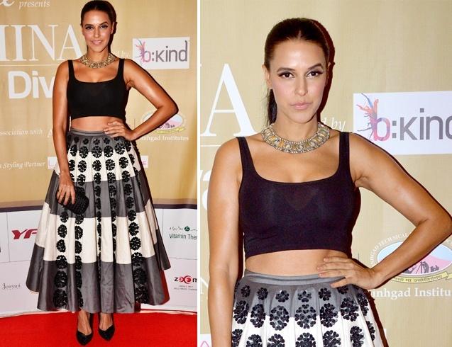 Neha Dhupia at Femina Style Diva 2014