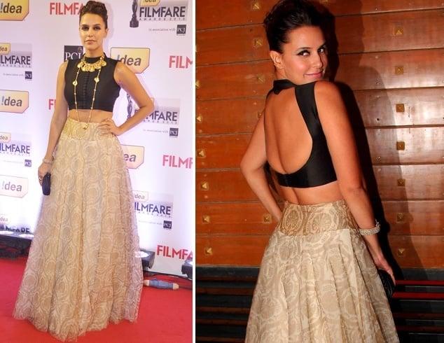 Neha Dhupia at Filmfare Awards 2013