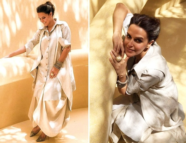 Neha Dhupia in Sohaya Chola