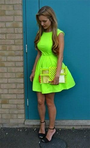 Neon Fashion Trend 2016